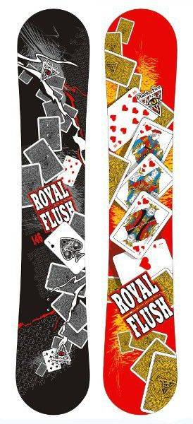 Сноуборд Black Fire Royal Flush (12/13)